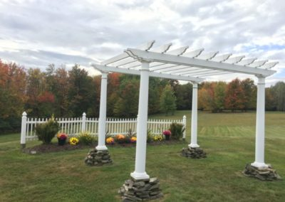 2g View Wedding Outdoor Fall Ceremony